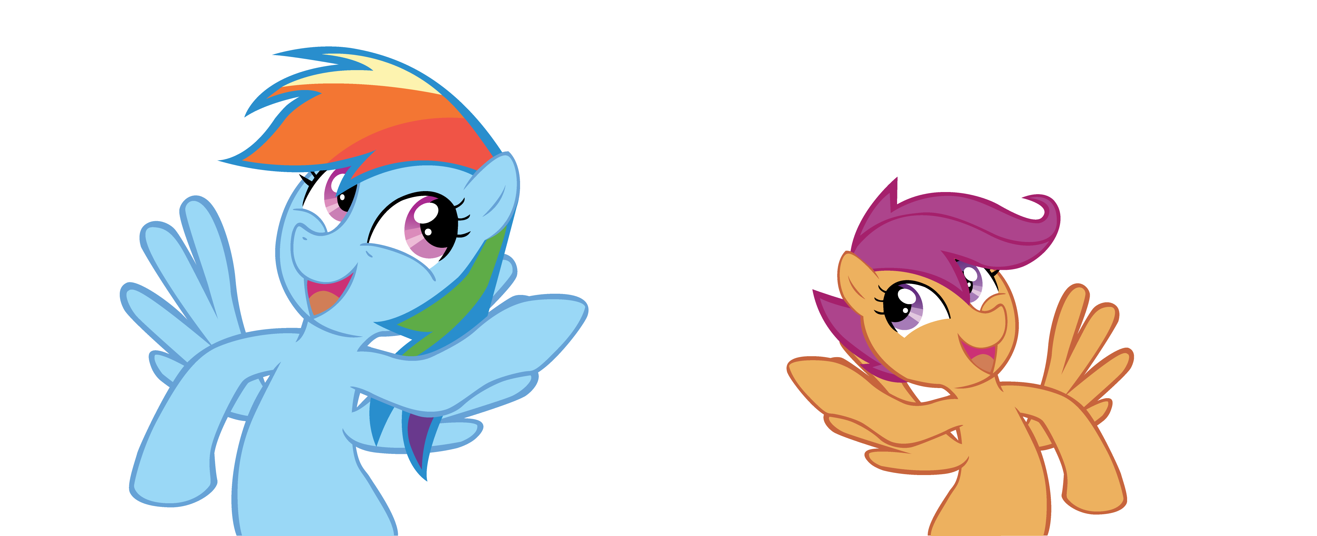 Rainbow Dash With Scootaloo By Ocarina0ftimelord On Deviantart 1024 x 1348 png 407 кб. deviantart