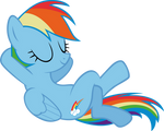 Rainbow Dash - Laid Back