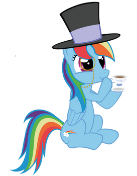 Rainbow Dash - Fancy