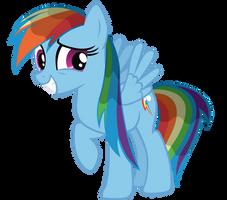 Rainbow Dash - Wet by Ocarina0fTimelord