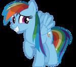 Rainbow Dash - Wet