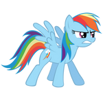 Rainbow Dash - Serious