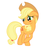 Applejack - Blush by Ocarina0fTimelord