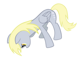 Derpy - looking down by Ocarina0fTimelord