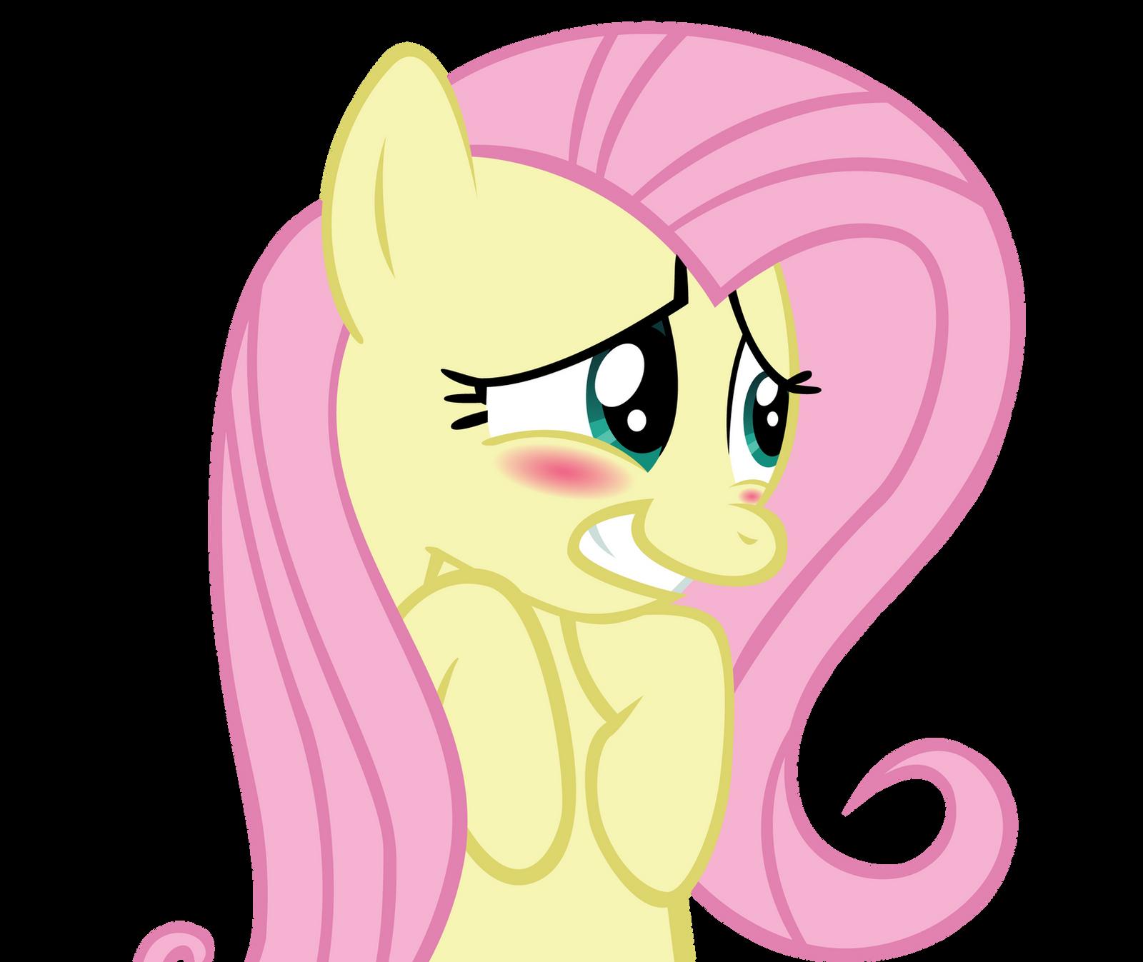 Lyra's magical diabetes inducing thread Fluttershy___blush_by_cptofthefriendship-d4nvl4w