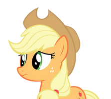 Applejack - Worried by Ocarina0fTimelord