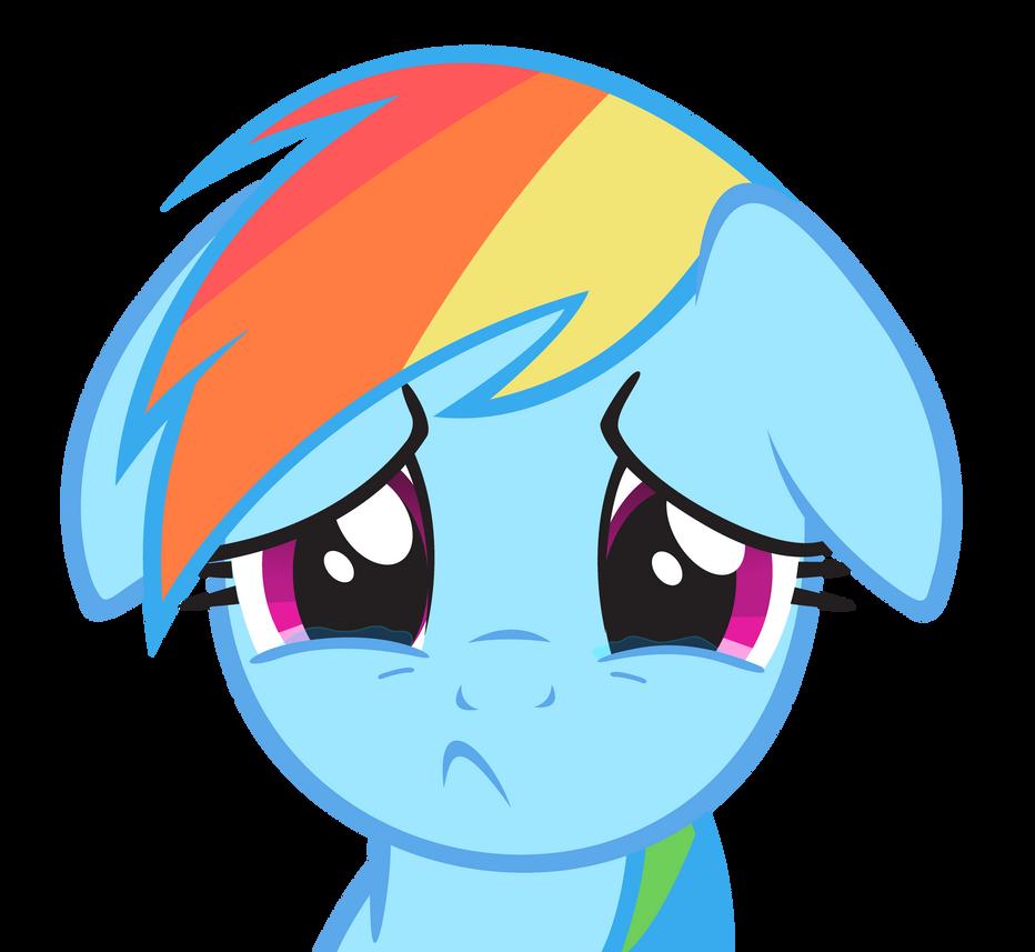 Rainbow Dash - Cry by Ocarina0fTimelord