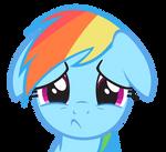 Rainbow Dash - Cry