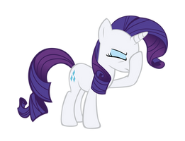 Request: Rarity - Facehoof by Ocarina0fTimelord