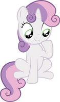 Sweetie Belle - Sitting