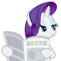 Rarity is not amused by Ocarina0fTimelord