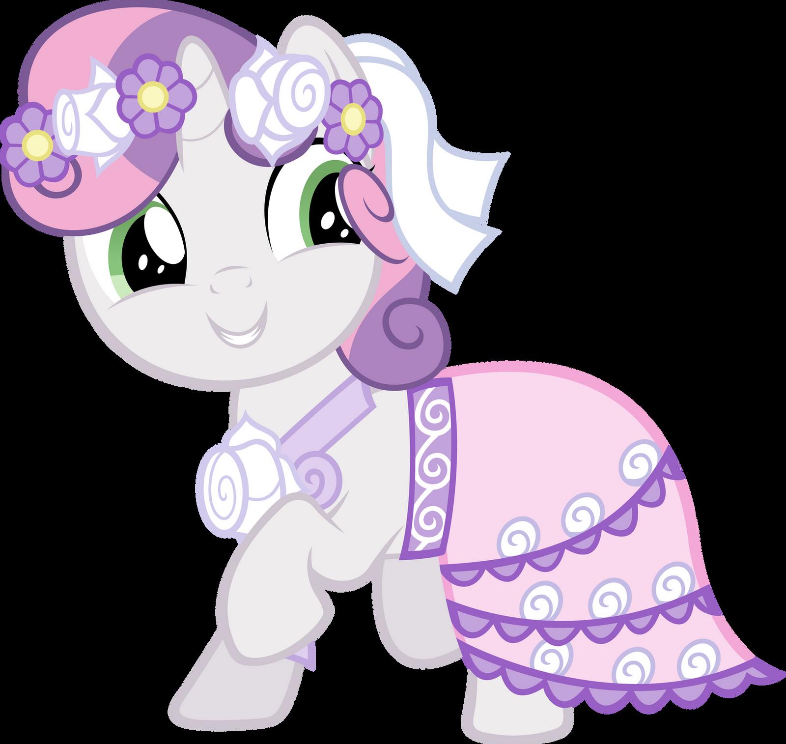 My little pony sweetie belle baby - photo#13