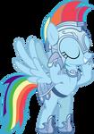 Rainbow Dash - Crystal Pony Armor