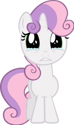 Sweetie Belle Crying