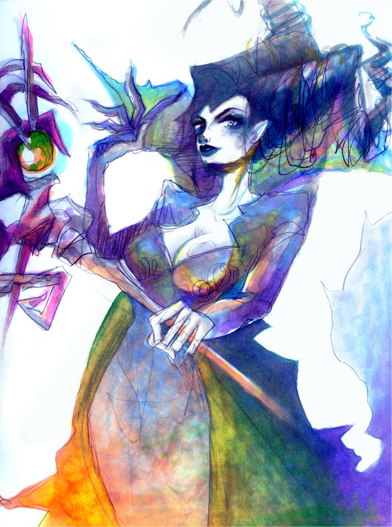 Witch of the New Year by Dimestore-Hod