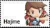 Hajime Kellyn Stamp by Monkeychild123