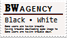 BW agency stamp by Monkeychild123
