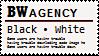 BW agency stamp by Monkeychild123