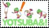 yotsuba stamp by Monkeychild123
