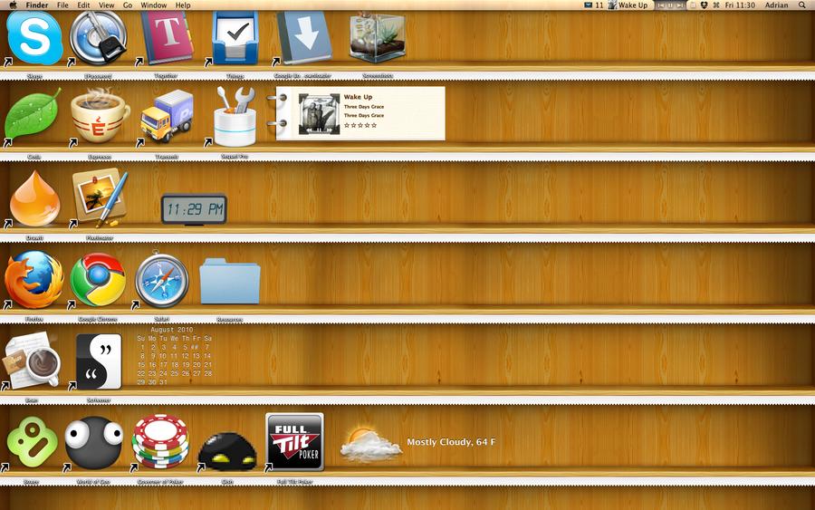 desktop shelves by adrusi on deviantart rh deviantart com shelves for desktop icons desktopshelves mac