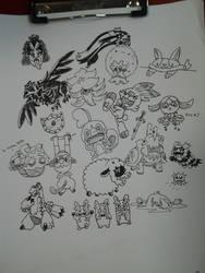 Aug 9 r/sketchdaily 'Free Draw'