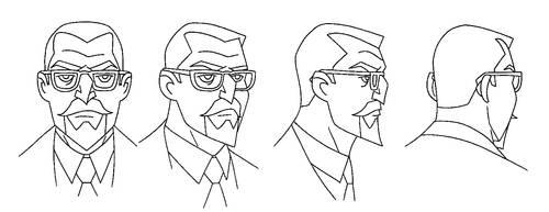 ANIMATION: JLUnlimited: Professor Hamilton turn by StephenBJones