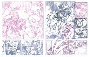 COMICS: X-Men sample pages by StephenBJones