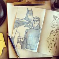 SKETCH: Ashcan Sketch#1 by StephenBJones