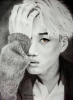 EXO Kai Drawing by diamondnura