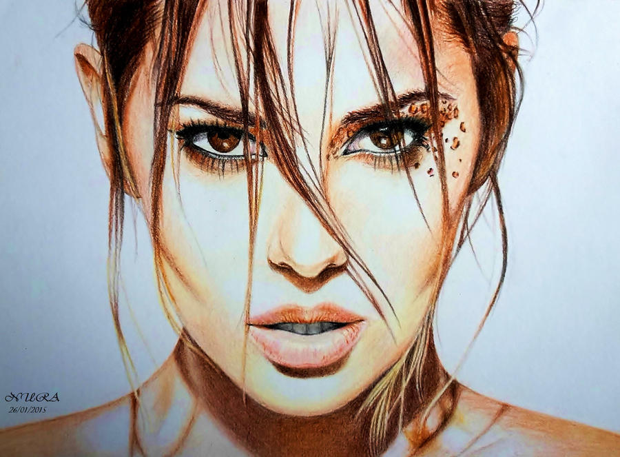 Cheryl (Colour Pencils) by diamondnura