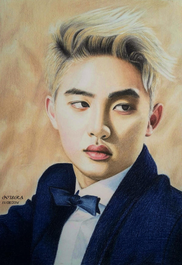 Blonde D.O. (Colour Pencils) by diamondnura