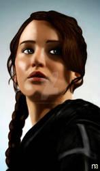 THG - Katniss Everdeen by fire-bender-saiyan