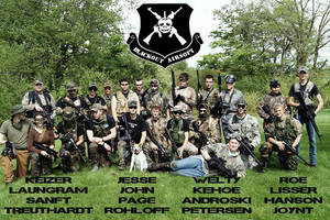 Blackout Airsoft Crew Poster by ford05