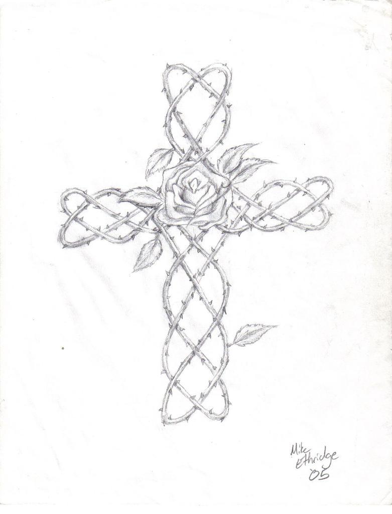 Vine Cross by Kilvex on DeviantArt
