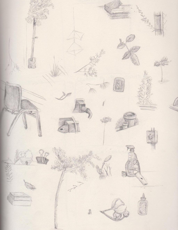 Sketch Pratice Obersvational Drawings by magicalmermaidcat