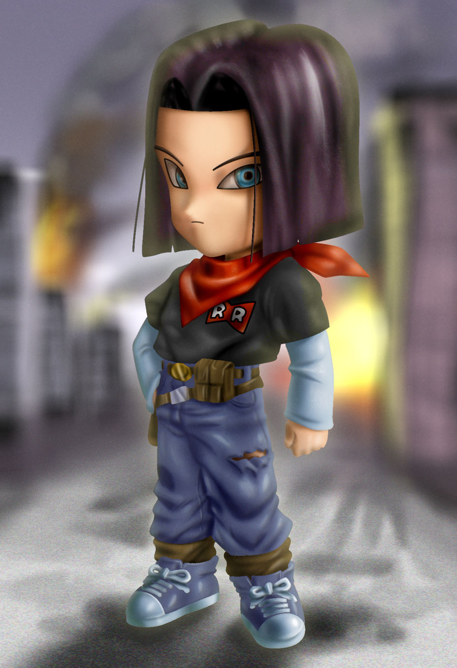 Android 17 by xenocracy
