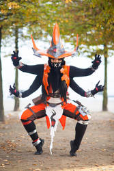 Orendi Cosplay from Battleborn