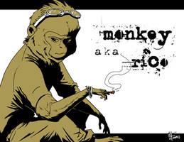 Monkey by FutureDwight