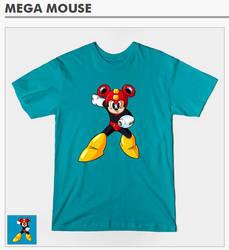 Mega Mouse Tee Shirt! by FutureDwight