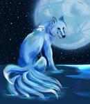 Wolf water spirit