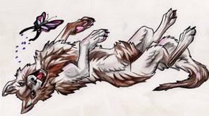I Iz A Happy Wolf by Lucky978