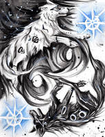 Yin Yang Wolves by Lucky978