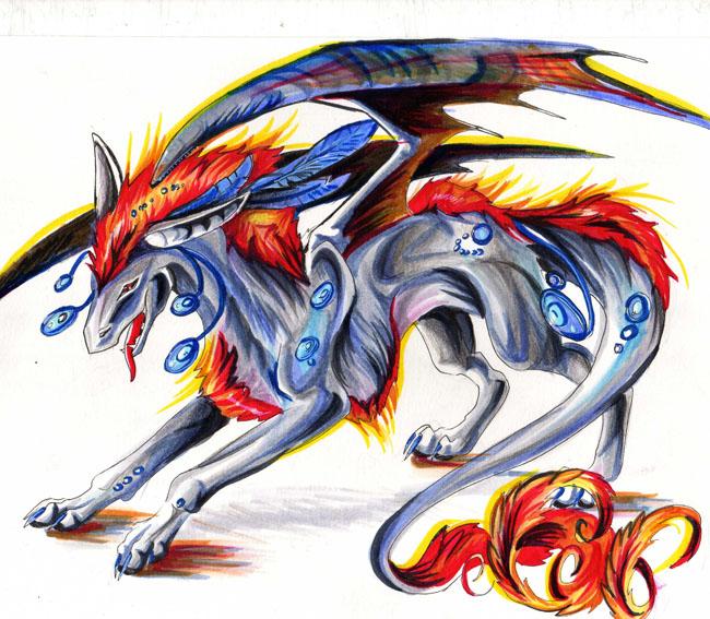 Fire Dragon by Lucky978 on DeviantArt: lucky978.deviantart.com/art/Fire-Dragon-136154742