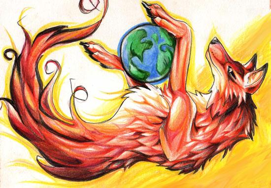 Fire-fox by Lucky978