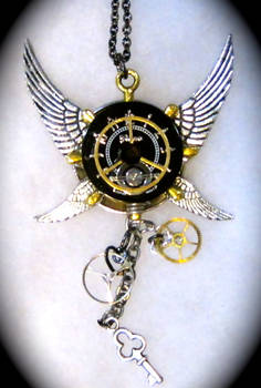 Steampunk- black and silver