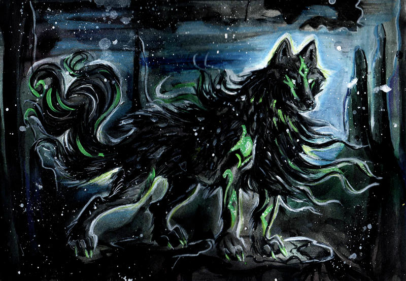 Fell the Wolf by Lucky978
