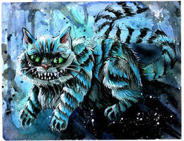 Cheshire Cat by Lucky978