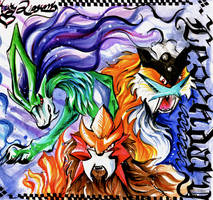 Legendary Dogs by Lucky978