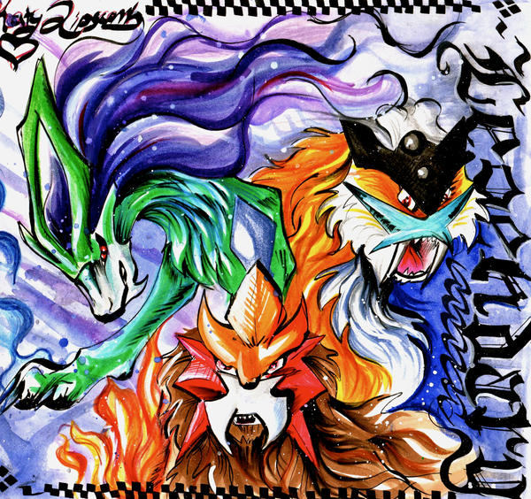 Legendary Dogs by Lucky978 on DeviantArt