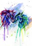 Rainbow Wolves